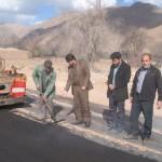 بازدید شهردار از پروژه آسفالت کاری باند دوم بلوار شهید صدوقی