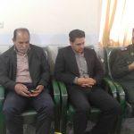 دیدار صمیمانه شهردار با فرمانده سپاه شهرستان کوهبنان