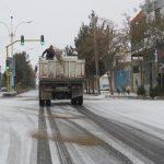 اقدامات انجام شده در روز برفی