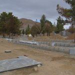 تداوم عملیات بازسازی بوستان معراج