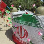 برپایی ایستگاه صلواتی به مناسبت سوم خرداد