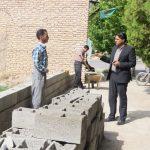 بازدید شهردار کوهبنان از روند اجرایی پروژه های عمرانی در حال اجرا