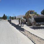 اجرای عملیات روکش آسفالت خیابانها و کوچه های سطح شهر