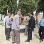 بازدید شهردارکوهبنان ازپروژه های عمرانی در حال اجرا