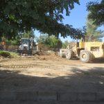 عملیات آماده سازی و بهسازی پارک آزادگان