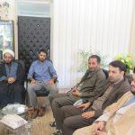 دیدار خبرنگاران و اهالی رسانه با شهردار کوهبنان به مناسبت هفته ی دولت