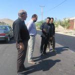 بازید شهردار کوهبنان از پروژه های عمرانی در حال اجرا و خیابان های در مسیر تردد هیات های مذهبی
