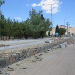 اجرای عملیات بهسازی و زیباسازی ورودی شهر