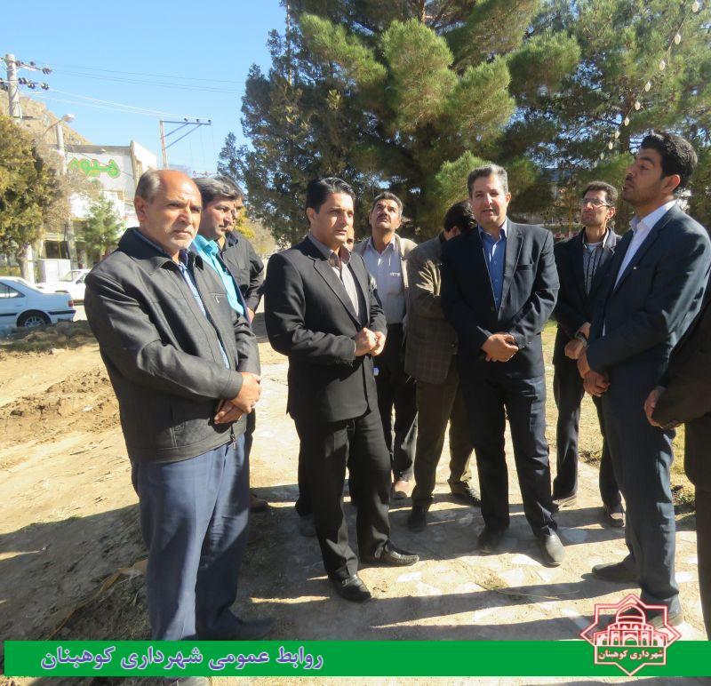 آغاز عملیات اجرایی بازسازی میدان شهدا
