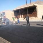 گزارش پروژه های آسفالت سطح شهر در شش ماهه گذشته