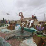 گزارش تصویری از مجموعه اقدامات شهرداری کوهبنان در راستای اسقبال از نوروز