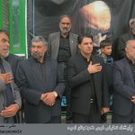 گزارش تصویری از حضور شهردار کوهبنان در مراسمات عزاداری سیدالشهدا